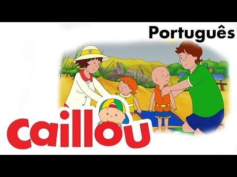 CAILLOU PORTUGUÊS - O zoológico no quintal (S02E17)