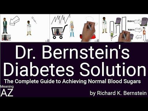 Dr. Bernstein's Diabetes Solution by Richard K. Bernstein ; Animated Book Summary