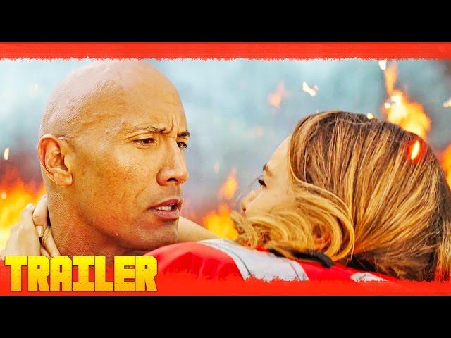 El primer y divertido tráiler oficial de la película Los vigilantes de la playa en español