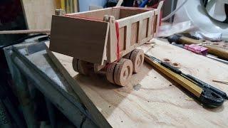 how to make a dump truck model part 1