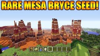 ★Minecraft Xbox 360 + PS3: TU31 Seed Rare Mesa Bryce Biome + Dark Oak Forest At Spawn★