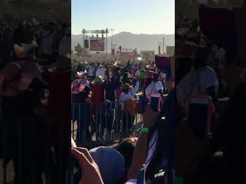 Pope's Visit Cd. Juarez 02/17/16