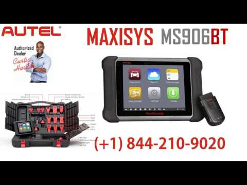Autel Maxisys MS906BT Review With Key Coding and VIN Writing Case Studies