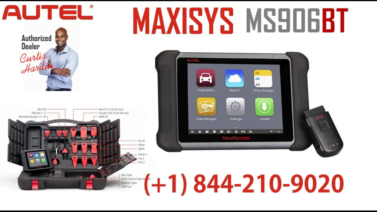 Autel Maxisys MS906BT Review With Key Coding and VIN ...