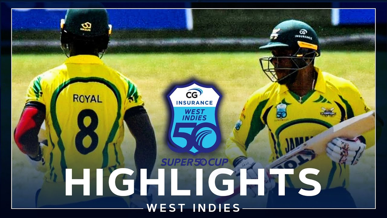 Highlights | Barbados v Jamaica | Incredible Hat-trick From McCarthy! | CG Insurance Super50 Cup