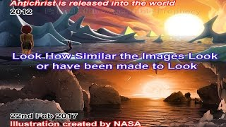 "NASA News Illustration IDENTICAL to FALSE CHRIST COMING in ""I Pet Goat 2"" Movie"