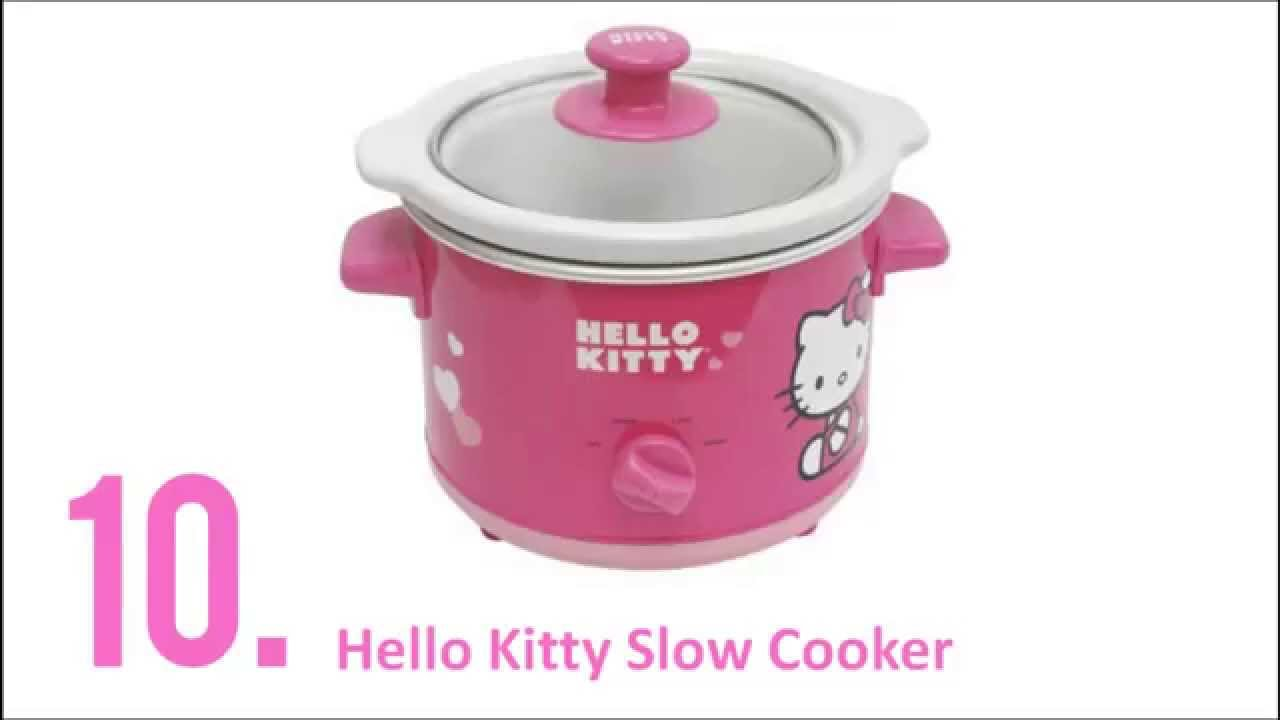 Hello Kitty Kitchen Appliances - Top 10 Hello Kitty Appliances - YouTube