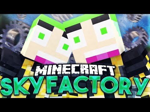 Sky Factory #196 EEN DRACONIC CHEST DIE KAN ORES SMELTEN!