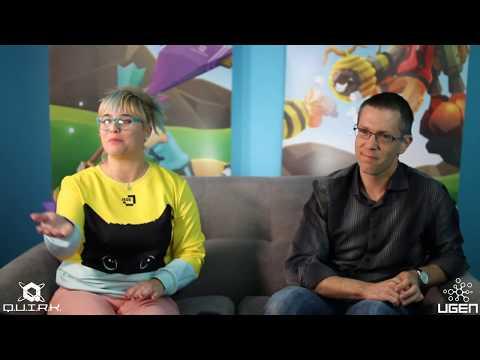 Maker's Monday Q.U.I.R.K. Dev stream with Executive Producer Jess