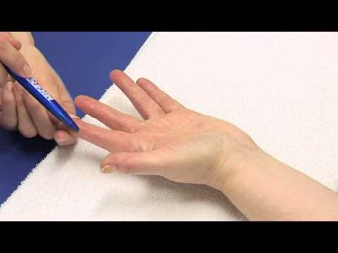 hand therapy tactile adherence test youtube. Black Bedroom Furniture Sets. Home Design Ideas