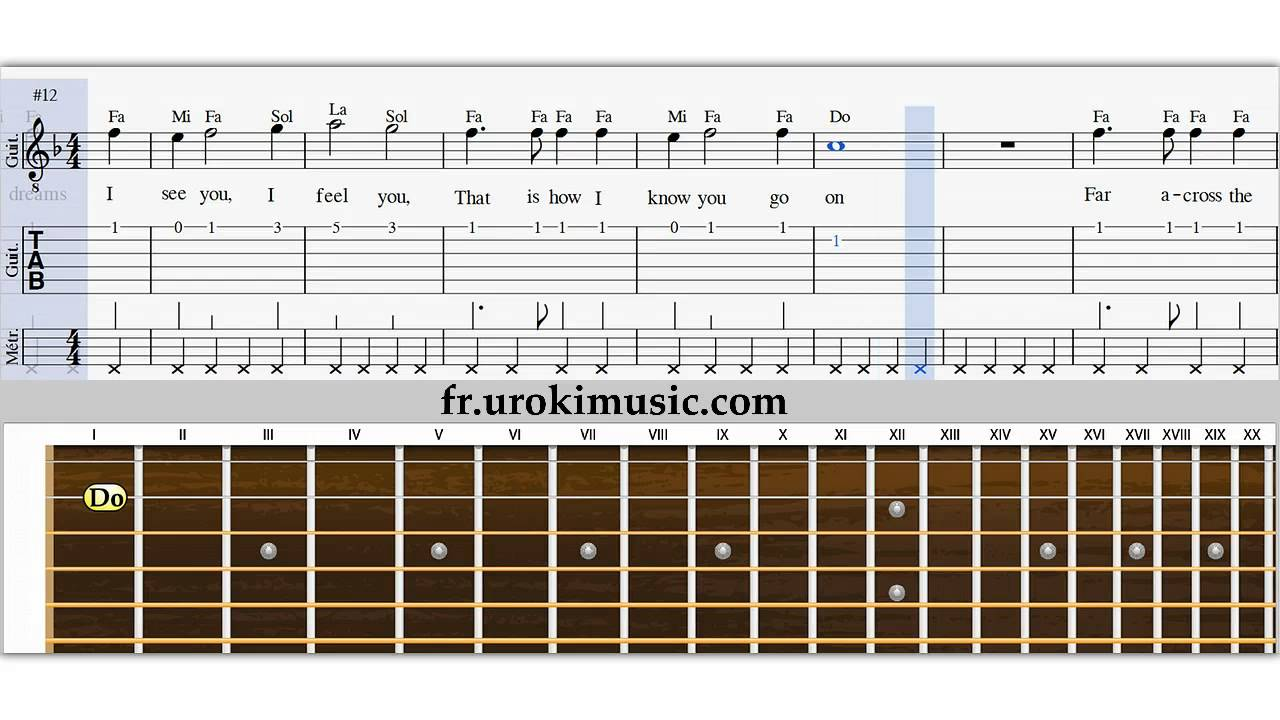 Relativ Cours de Guitare - My Heart Will Go On Titanic Comment Jouer de la  DZ55