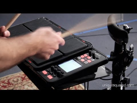 Roland SPD-30 Octapad and BT-1 Bar Trigger Overview and Demo | UniqueSquared.com
