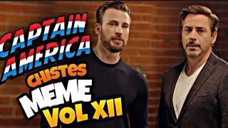 Capitan América MEME contando Chistes VOL XII