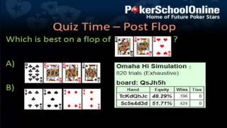 Pot Limit Omaha - Poker Quiz - Learn Plo