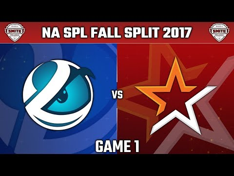 SMITE Pro League Fall Split Week 2 NA 2017 - Luminosity vs. Allegiance (Game 1)