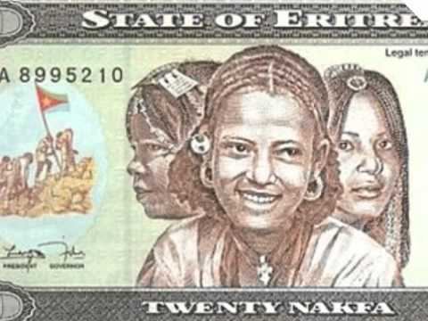 Eritrean currency.