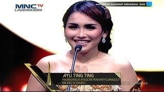 "Pemenang Penyanyi Dangdut Paling Sosmed : ""Ayu Ting Ting"" Anugerah Dangdut Indonesia 2016"