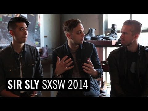 #STANDFORSOMETHING in Austin: Sir Sly interview at SXSW