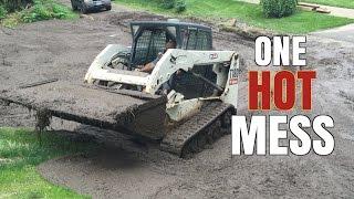 Landscape, Construction Management Disaster turns Into a Mud/ LandSlide
