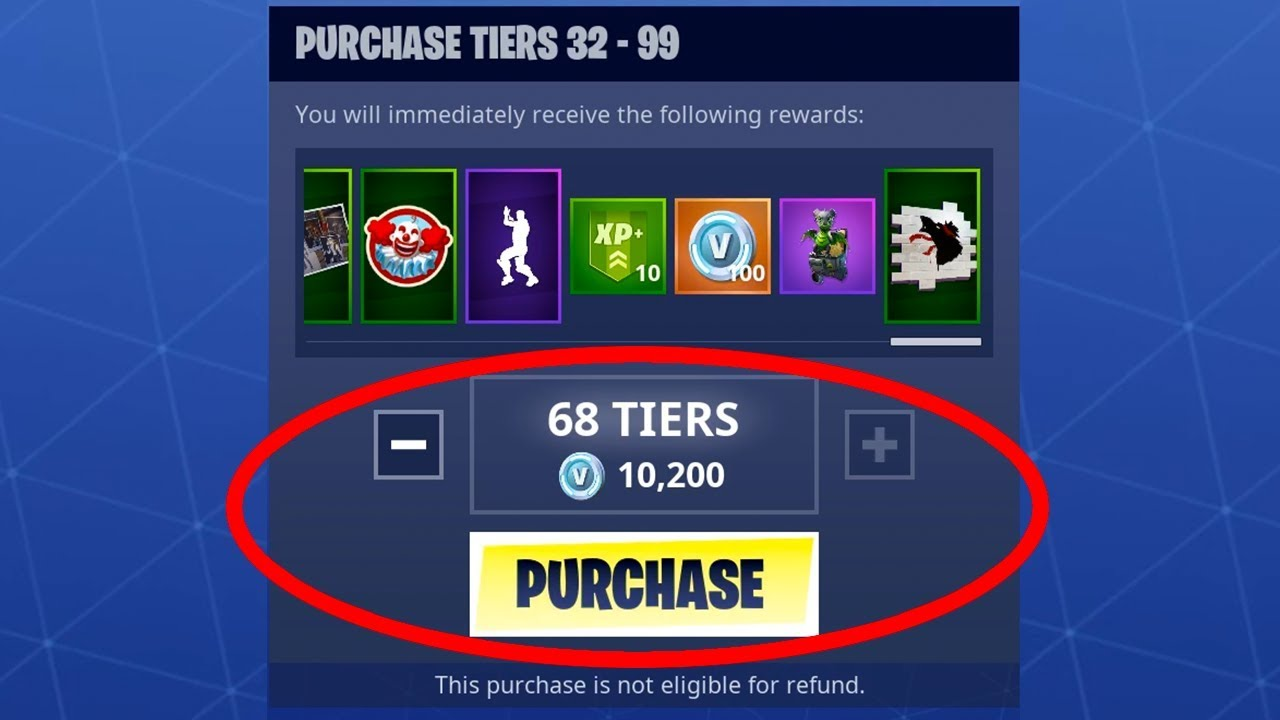 I used my mom's credit card to buy the entire season 6 battle pass