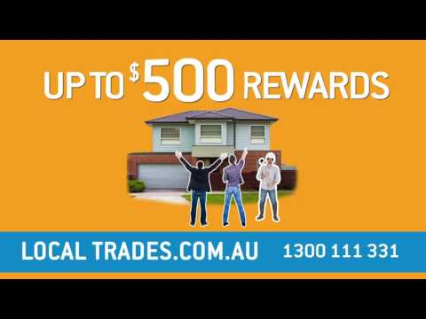 Local Trades - Vouchers - Rewards for Home Owners