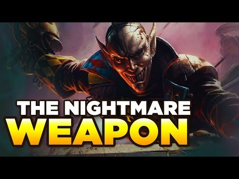 THE WEAPON OF NIGHTMARES - Harlequin's Kiss | WARHAMMER 40,000 [LoreGear]