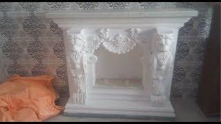 Декоративный Фальш - Камин своими руками от и до + размеры