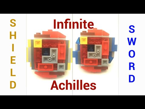 NEW Infinite Achilles *Working Gimmick* | Lego Beyblade Reviews