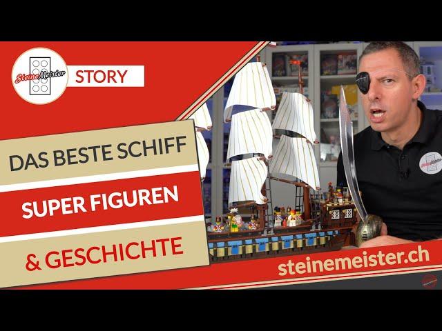 Lego® 10210 Imperiales Flaggschiff das beste Schiff ever, tolle Figuren & die Piratengeschichte.