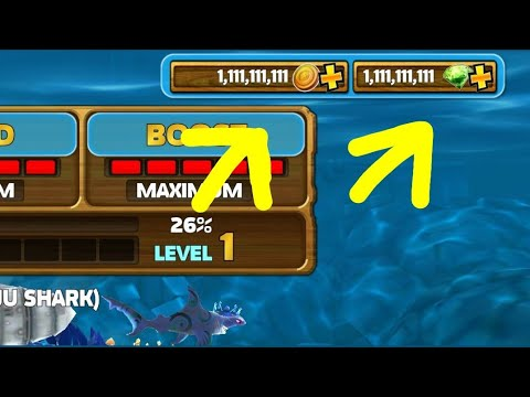 cách hack hungry shark evolution android - Hướng Dẫn HACK Hungry Shark Evolution 7.0.0 ( Full Gems/Coins/Unlocked 2019