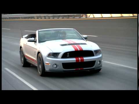 2011 Ford Shelby Gt500 Convertible In Action Youtube