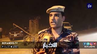 الدفاع المدني يسيطر على حريق شب في مناطق زراعية في منطقة البربيطة - (4-8-2018)