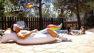 VLOG #9   Ibiza 🇪🇸 Überraschungsurlaub mit der Crew für Angie.