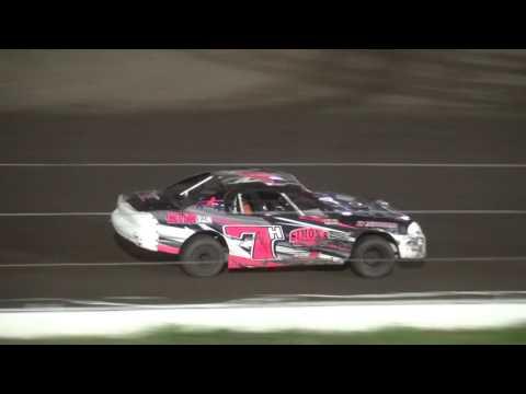 IMCA Stock Car feature Farley Speedway 7/14/17