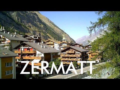SWITZERLAND: Zermatt village [HD]