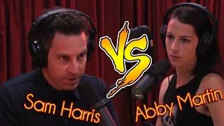 Sam Harris Vs. Abby Martin (Iraq Body Count)