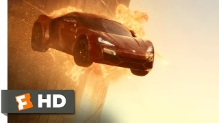 Furious 7 (5/10) Movie CLIP - Cars Don