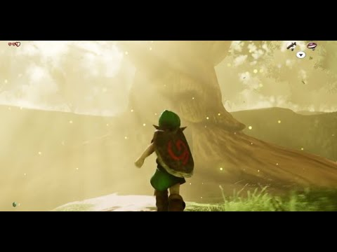 Zelda Ocarina of Time Unreal Engine 4 Remake - Link's Classic Adventure  Remade In UE4!