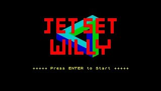 Jet Set Willy - ZX Spectrum Game Review