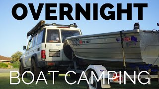 Overnight Boat Camping - Swags and Tinnies Part 1/2