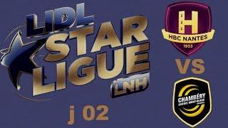 Nantes VS Chambéry Handball LIDL STARLIGUE j02