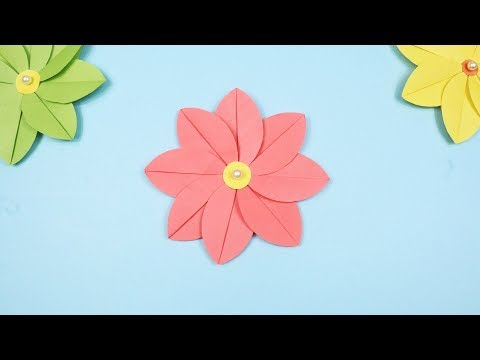 How to Make Beautiful Paper Flower | DIY Flower Crafts