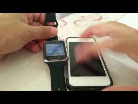 How to connect Fake Apple Watch to Iphone 5 A1 Smartwatch