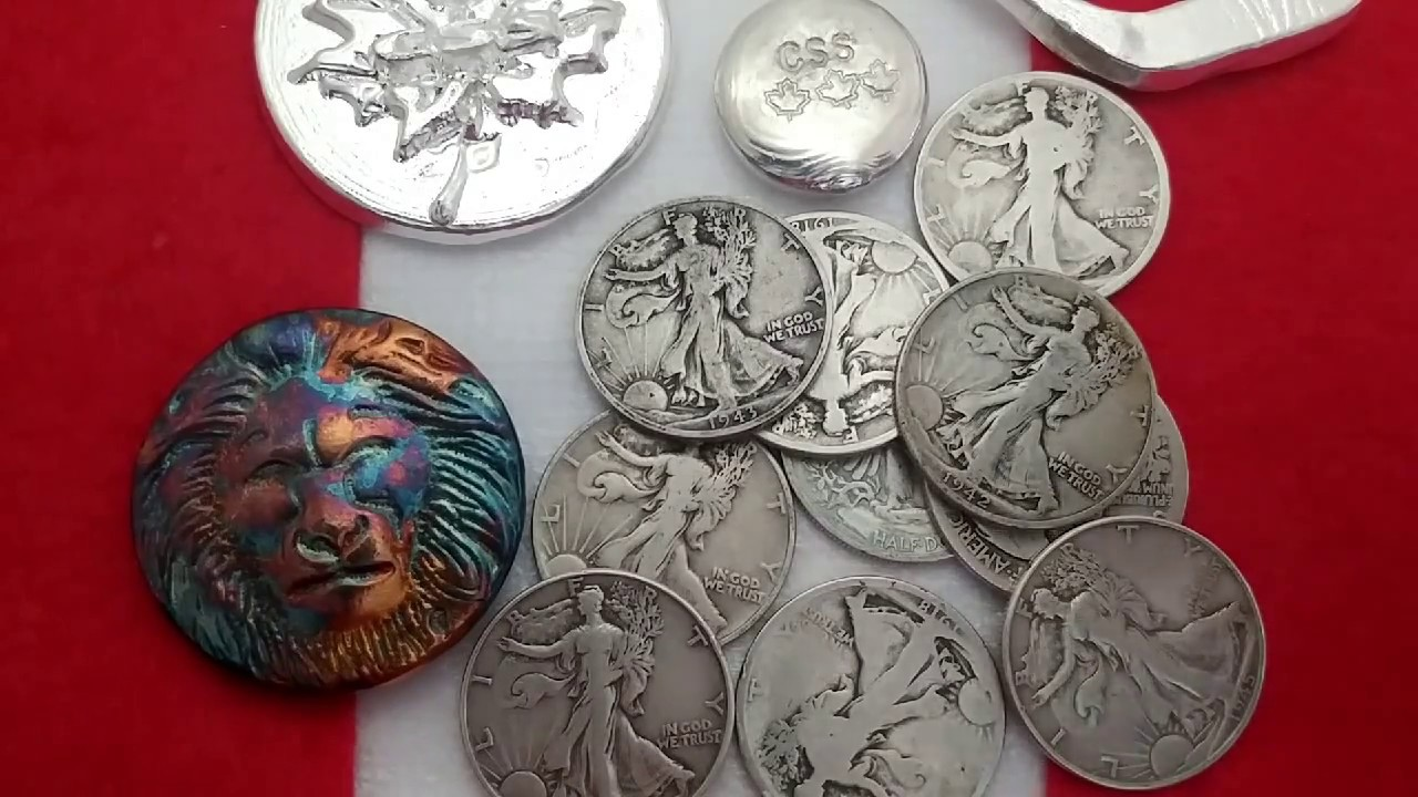 Silver Hunt Sunday. Old walkers & sand cast Lion from Zeke ...