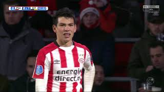 Hirving Chucky Lozano vs Vitesse | HD 1080p | Eredivisie |  23/12/17