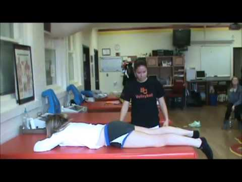 femoral nerve stretch - simpson college athletic training - youtube, Muscles