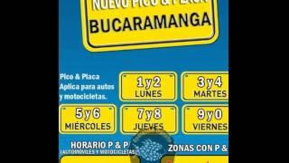 PICO Y PLACA BUCARAMANGA 2016
