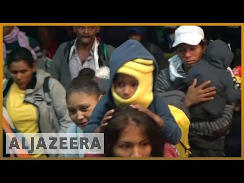 🇲🇽After resting in Mexico City, caravan ready to continue north | Al Jazeera English