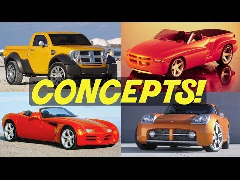 4 Dodge Concept Cars That We Forgot About! // PART 1
