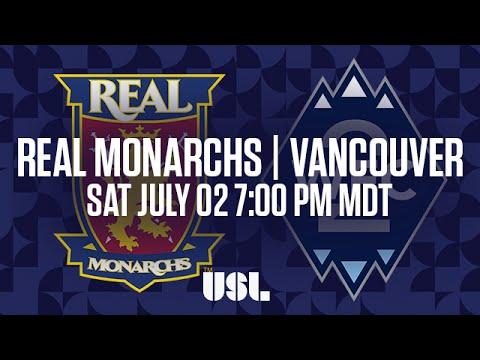 WATCH LIVE: Real Monarchs SLC Vs Vancouver Whitecaps FC 2 7-2-16